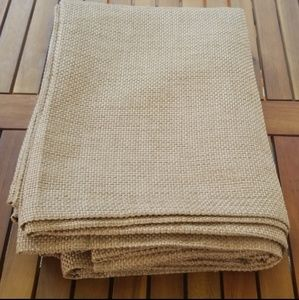 Threshold Accents - Basketweave Curtain Panel Set